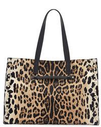Leopard Leather Handbag