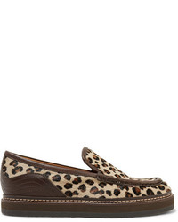 Leopard loafers original 4127001