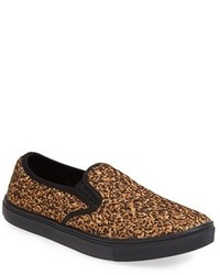 Leopard slip on sneakers original 9768714