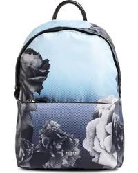 Ted Baker London Mono Rose Backpack Blue