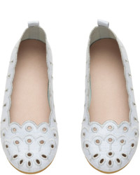 Light Blue Ballet Flats