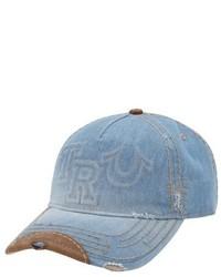 True Religion Brand Jeans Raised Logo Baseball Cap