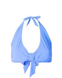 Heidi Klein Ruched Halterneck Bikini Top