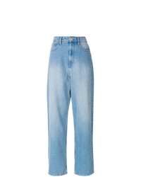 Isabel Marant Etoile Isabel Marant Toile Corby Oversized Boyfriend Jeans