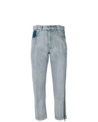 3.1 Phillip Lim Zippered Denim Jeans