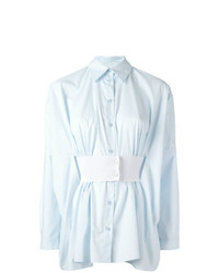 MM6 MAISON MARGIELA Belt Pleated Shirt