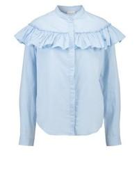 Vilokas shirt cashmere blue medium 3937289