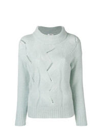 Peserico Braided Knit Sweater