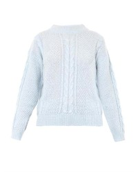 Cable knit sweater medium 180696