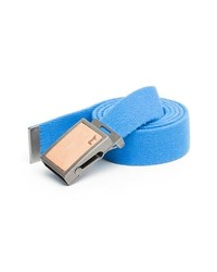 Light Blue Canvas Belt