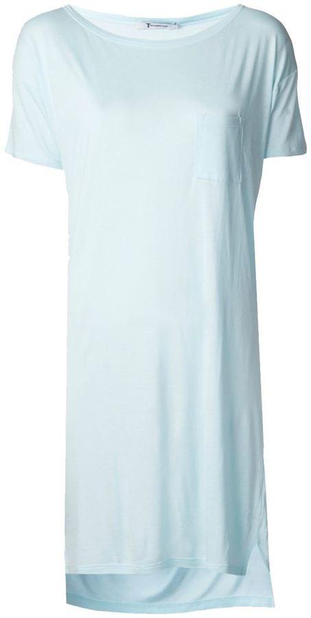 Alexander Wang T By Loose Fit T Shirt Dress  b8307e0bfc81
