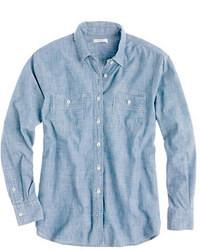 Japanese selvedge chambray shirt medium 18694
