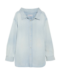 Balenciaga Cotton Chambray Shirt