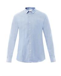 Sunspel Chambray Cotton Shirt