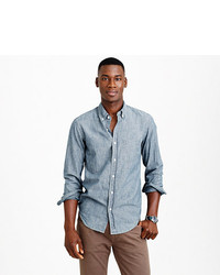 Indigo japanese chambray shirt medium 206292