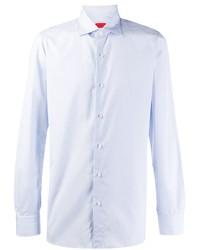 Isaia Micro Check Shirt