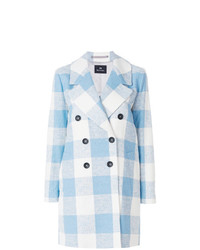 Ps By Paul Smith Double Breasted Check Coat