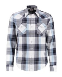 Barstow western shirt hemp nightwtach blue medium 3777282