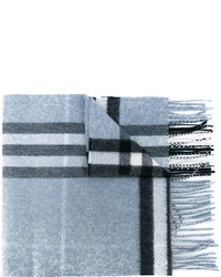 Burberry Fringed Checked Scarf