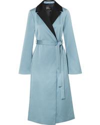 Stine Goya Leanne Two Tone Hammered Satin Coat