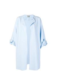 Chiara Boni La Petite Robe Rose Motif Oversized Coat