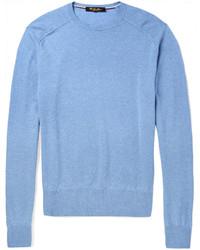 64aaeb323607 Men s Crew-neck Sweaters by Loro Piana
