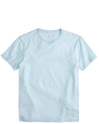 Light Blue Crew-neck T-shirt