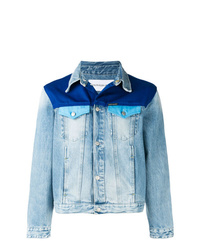 Calvin Klein Jeans Contrast Panel Denim Jacket