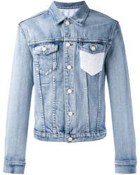 3.1 Phillip Lim Crochet Pocket Denim Jacket