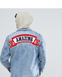 Just Junkies Denim Jacket With Amazing Back Patch