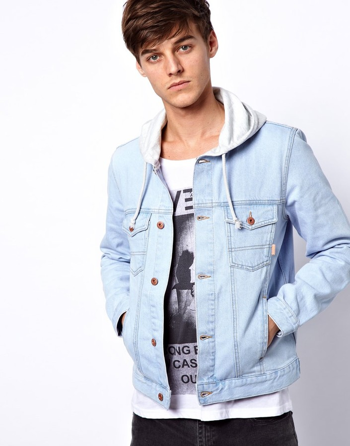 Asos Denim Jacket With Hood | Where to buy & how to wear