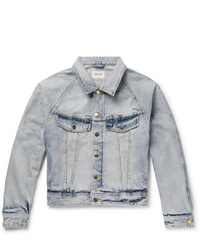Fear Of God Distressed Denim Trucker Jacket