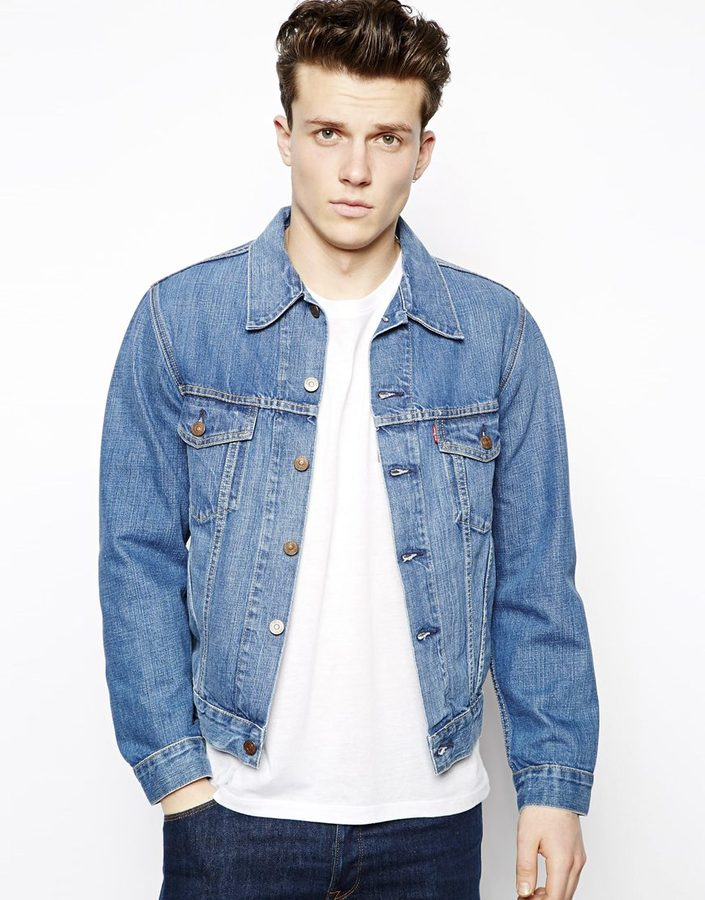 Levi's Levis Vintage Denim Jacket 1967 Type III Trucker Jacket ...