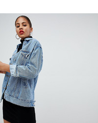 Missguided Tall Oversized Denim Jacket