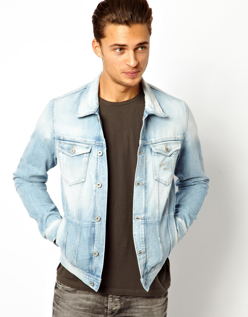 Pepe Jeans Pepe Denim Jacket Legend Slim Fit Light Wash | Where to ...