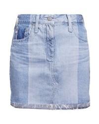 AG Jeans Sandy Denim Skirt Blue Denim