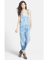 Citizens of Humanity Quincey Distressed Denim Overalls