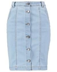 Shadi pencil skirt vintage blue medium 3933548