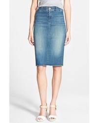J Brand Willa Denim Pencil Skirt