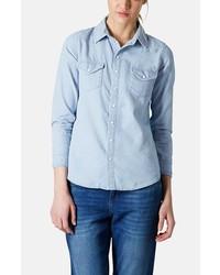 Topshop Chambray Western Shirt