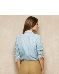 Ralph Lauren Blue Label Chambray Workshirt