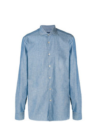 Borriello Denim Button Down Shirt