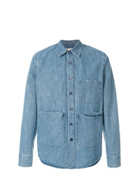 Aspesi Denim Pocket Shirt