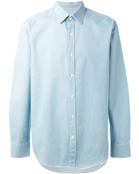 Hardy Amies Denim Twill Shirt