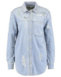 Topshop Elton Shirt Bleach