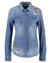 GUESS Lalima Shirt Blue Denim
