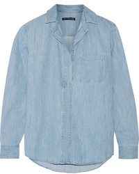 Rag & Bone Leeds Denim Shirt Light Denim