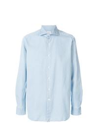 Bagutta Long Sleeve Denim Shirt