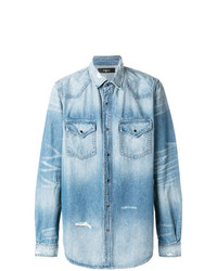 Amiri Western Denim Shirt