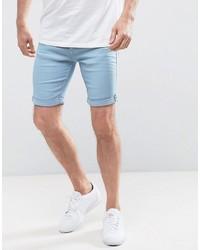 Blend of America Blend Light Blue Denim Shorts